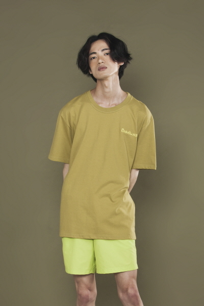 LOGO EMBROIDERED T-SHIRT (OLIVE)
