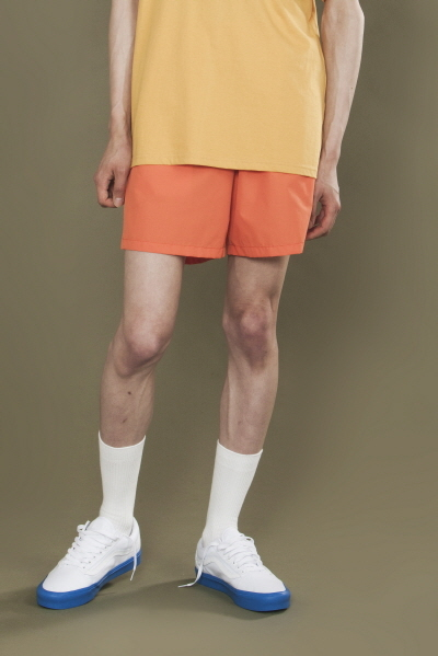 NYLON SWIM PANTS (ORANGE)
