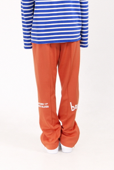 BOYS TRACK PANTS (ORANGE)