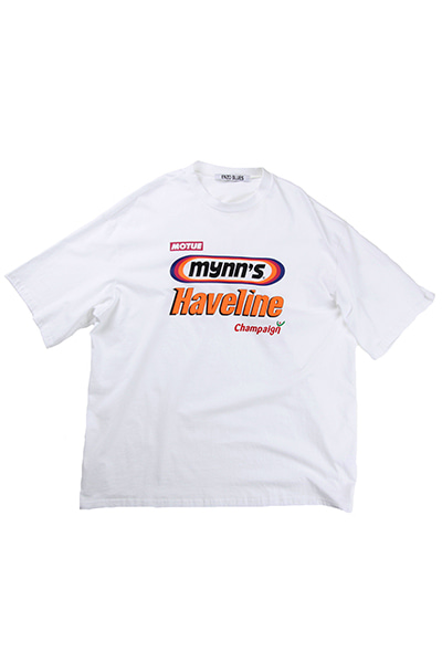 LOGOS BIG T-SHIRT (WHITE)