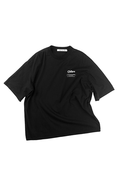 CHILLERS BIG T-SHIRT (BLACK)