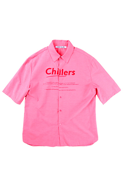 OVERSIZE CHILLERS SHIRT (PINK)