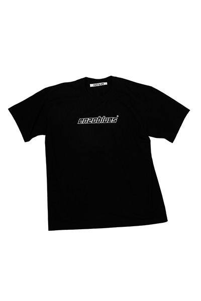 CRACKED LOGO T-SHIRT (BLACK)