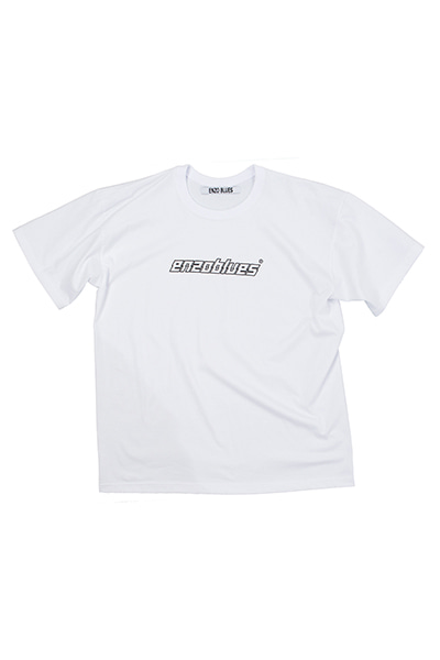 CRACKED LOGO T-SHIRT (WHITE)