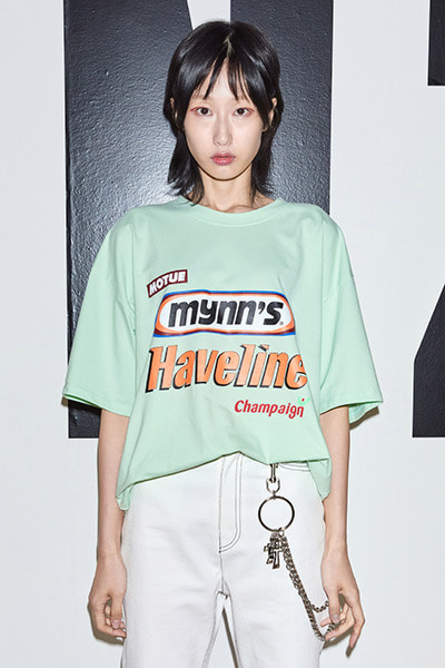 LOGOS BIG T-SHIRT (MINT)