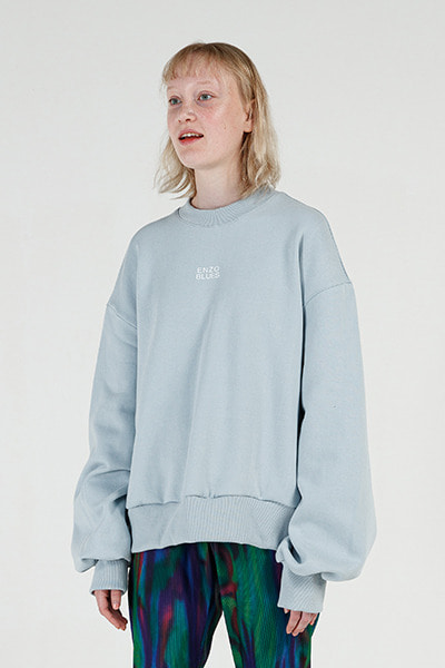 MINI LOGO SWEATSHIRT (LIGHT BLUE)