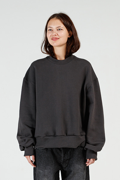 MINI LOGO SWEATSHIRT (CHARCOAL)