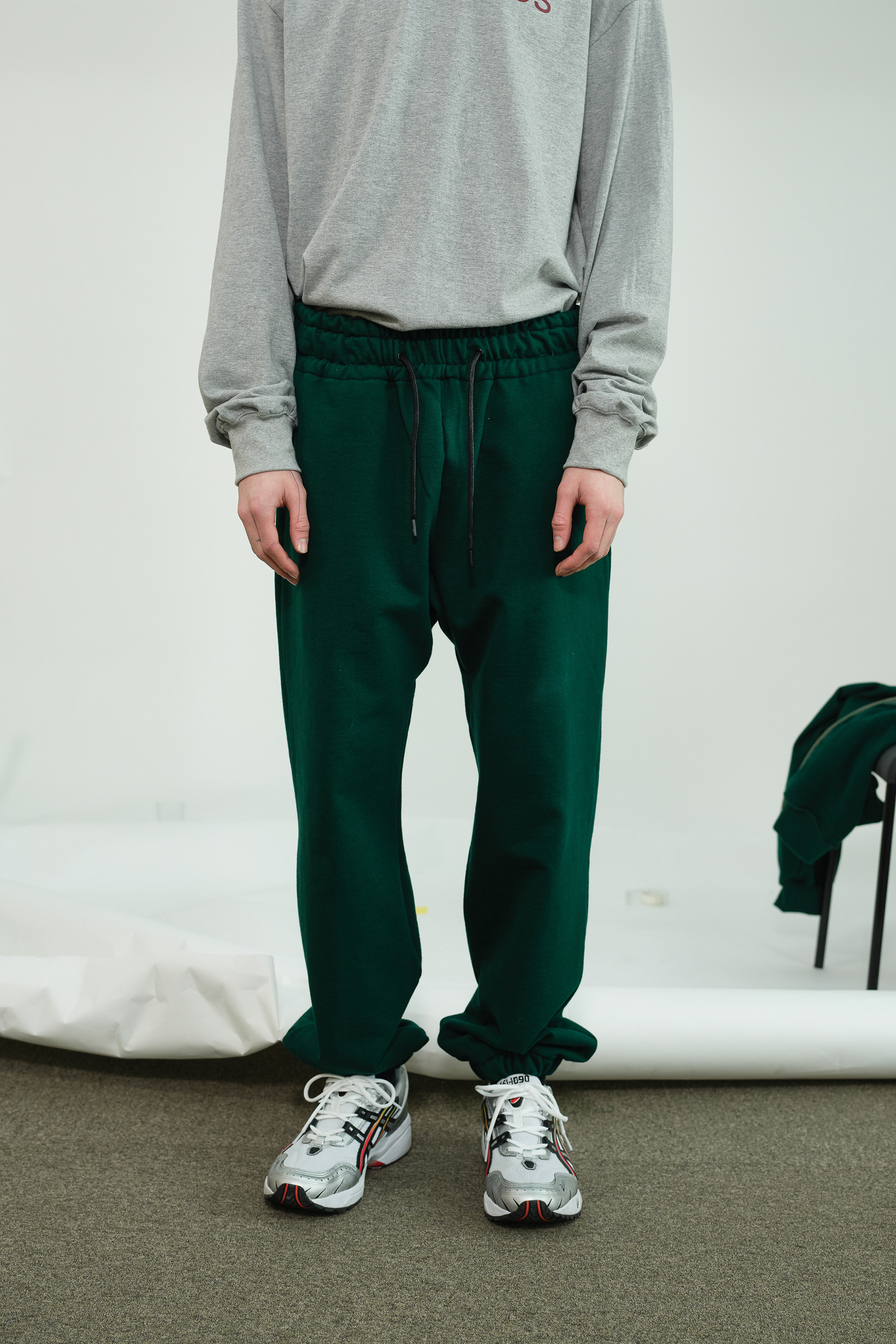 Heavy Sweatpants (Deep Green)